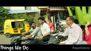 kanne adi gannu mathiri cover song || Best love scene 😍 || what'sapp status