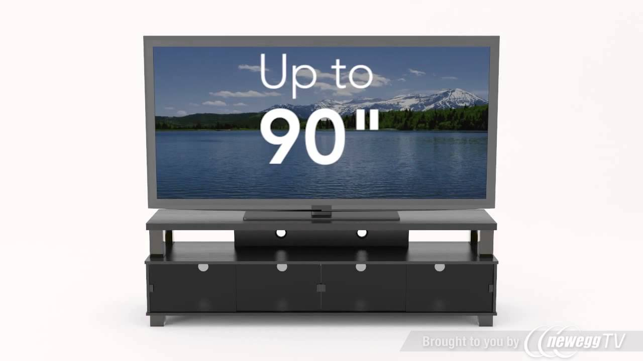 Sonax 48 80 Rich Ravenwood Black Finish Bromley 75 2 Tier Tv