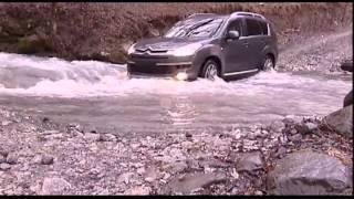 наши тесты - Citroen C-Crosser, Honda CRV и Nissan X-Trail (2008)