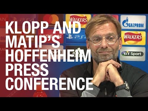 LIVE | Jürgen Klopp's Hoffenheim press conference