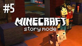 MEETING THE REDSTONE GENIUS - MINECRAFT STORY MODE (EP.5)