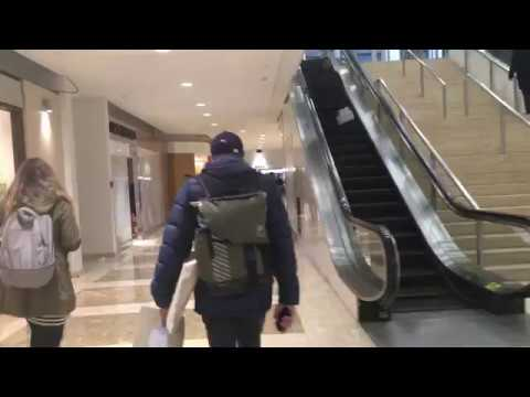 Downtown Toronto Walk - Through The PATH Underground Tunnel Network and The Eaton Centre - 4K
