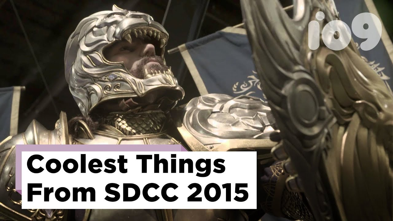 The Absolute Coolest Things We Saw On The Floor At Comic Con 2015