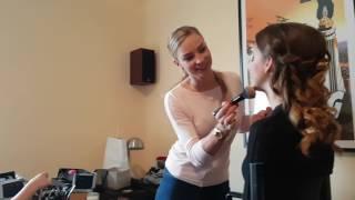 Filmowa lekcja makijażu Laury - odc 1. Okładka Hot Magazine Styczeń 2017