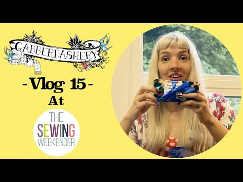 Sewing Weekender (Hosted by The Foldline & English Girl At Home) | Vlog 15