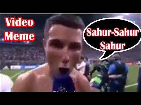 SAHUR SAHUR SAHUR Meme Lucu & Tongklek Bangunkan Makan Sahur