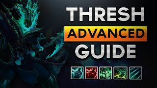 Advanced Thresh Support Guide Season 8: Become A Challenger Thresh God in 15 mins!