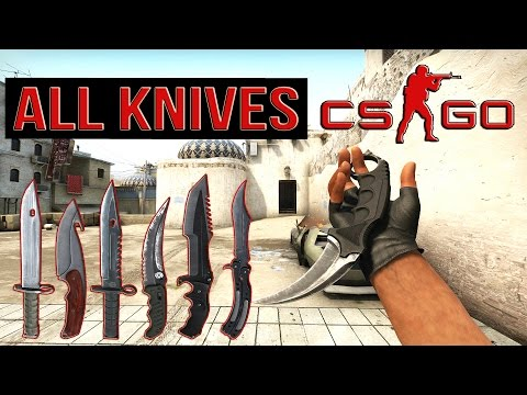 CS:GO ALL KNIVES «CounterStrike GO» All Knives + Animations