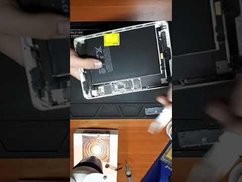 ipad 2 после замены сенсора нет подсветки