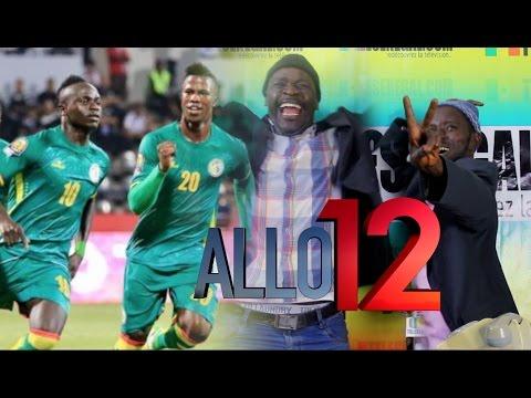 Sénégal vs Tunisie dans Allo 12 avec Pa Nice et Wadioubakh - Tele Senegal