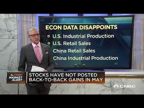 Markets open lower following disappointing economic data