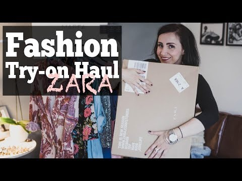 Try-On Haul Zara | Fashion blogger | ootd