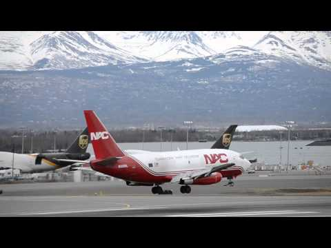 Anchorage International Airport Runway 15 Arrivals