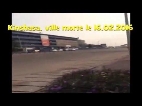 Kinshasa ville morte 12 02 2016
