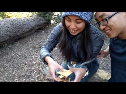 Backpacking to Little Jimmy Trail Camp via Windy Gap - Angeles National Forest