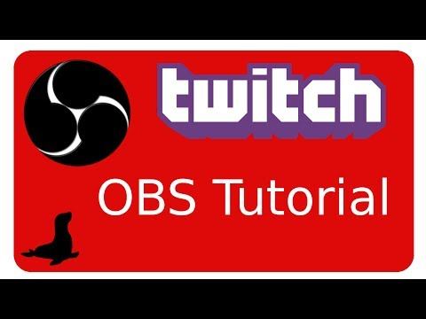 OPTIMAL Streamen mit OBS (open broadcaster Software) free -