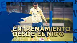 Entrenamiento 28 de enero desde el Nido Águila | Club América