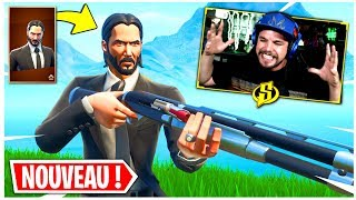 THE BEST GAME MODE and SKIN JOHN WICK on FORTNITE!!