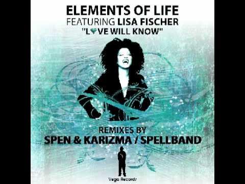 VR113 Elements of Life feat  Lisa Fischer Love Will Know Remixes (Spen & Karizma Remix)