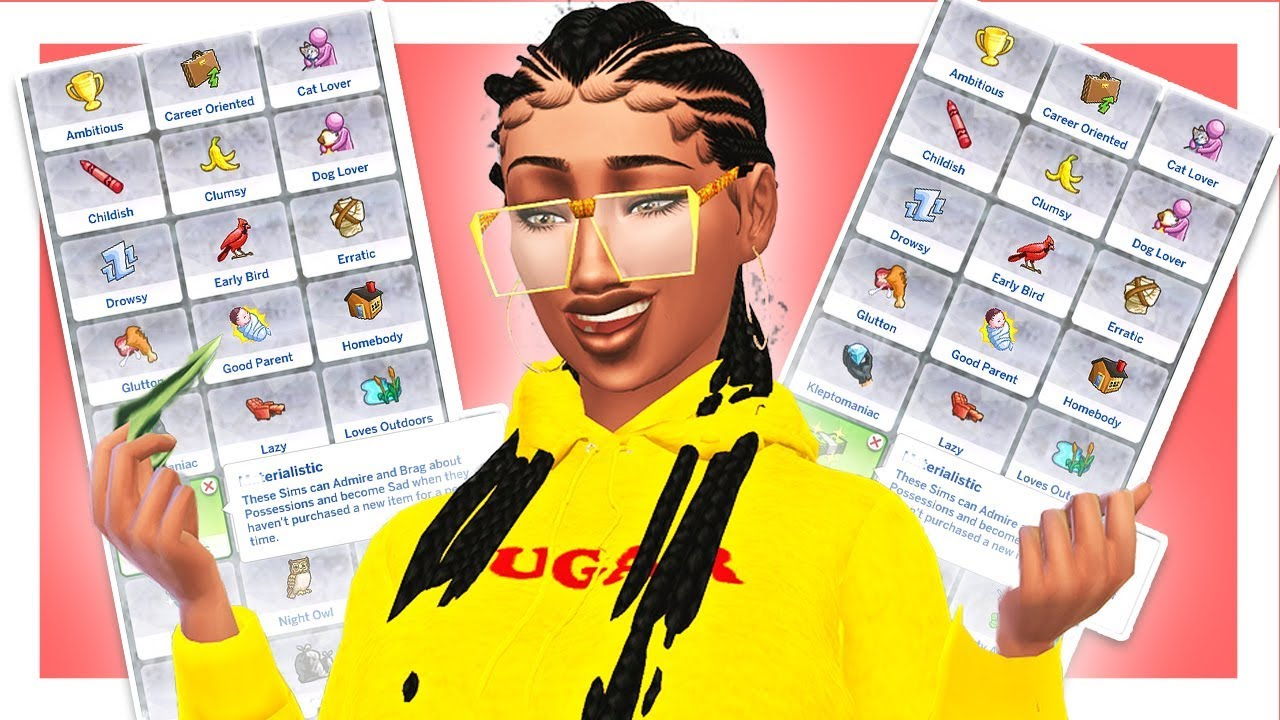 30+ CUSTOM CONTENT TRAITS 😍 // SIMSTAGRAM BADDIE, COLLEGE STUDENT, and  MORE! // Sims 4 Mods