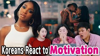 Koreans In Their 30s React To Motivation By Normani