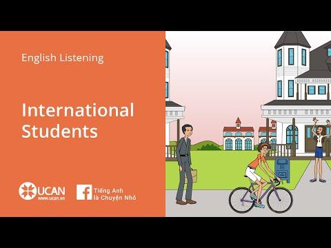 Learn English Via Listening | Beginner - Lesson 28. International students