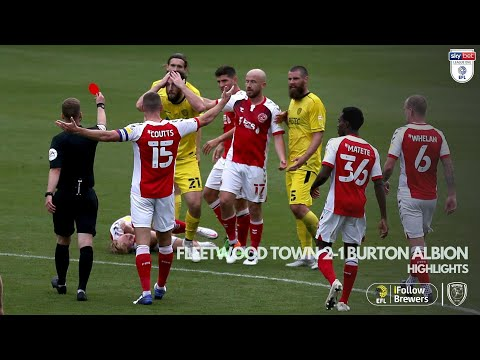 Fleetwood Town Burton Goals And Highlights