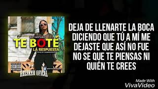 Kat Santana _LA RESPUETA_(te bote)letra