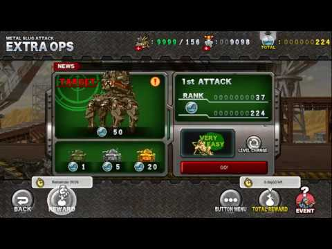 [HD]Metal slug ATTACK. EXTRA OPS!  RISING IRON  OPENING!!! (2.11.0 ver)