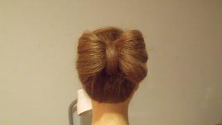 Kokarda z włosów.