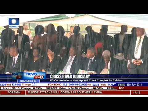 FG Commissions New Appeal Court Complex In Calabar