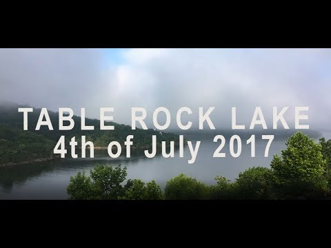 Table Rock Lake - 4th of July 2017