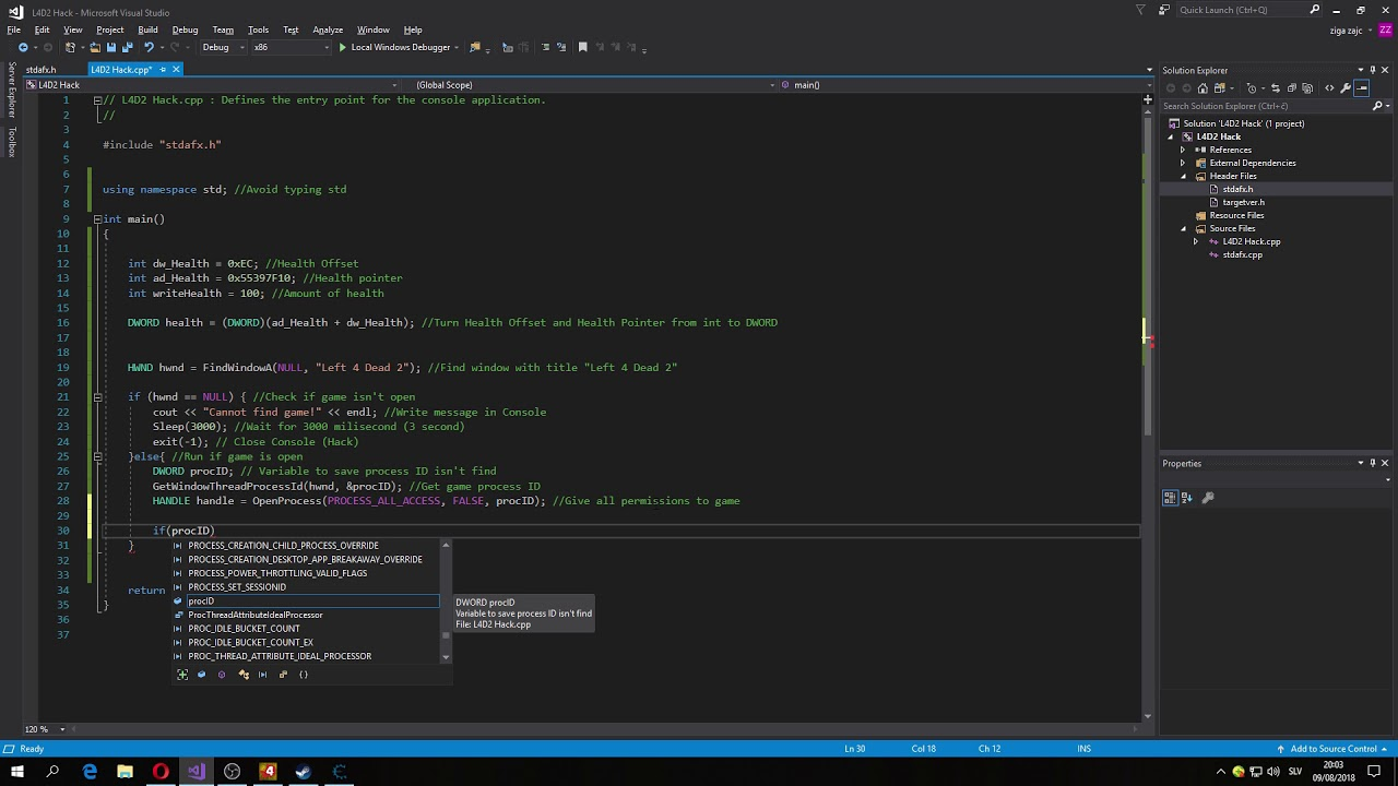 How To Hack Any Game With C Tutorial