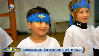 FanArena (29.11.) - 50 de copii s-au strans intr-un EXATLON de poveste alaturi de Ciprian Silasi!