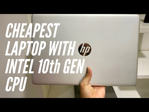Hindi: HP 15 Core i3 10th Gen Laptop Unboxing and Overview!