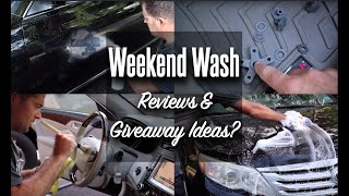 Weekend Wash #14 / Giveaway Ideas and MORE!