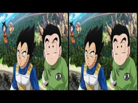 Goku vs Bills  HD 3d sbs