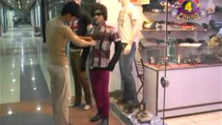 Funny Clip at shopping Mall   EMAX TV   TV ON HAI
