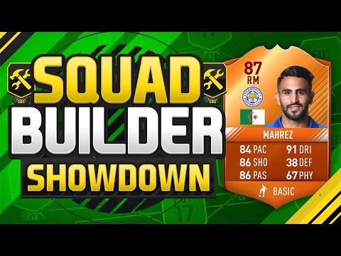 FIFA 17 SQUAD BUILDER SHOWDOWN!!! iMOTM MAHREZ!!! International Man Of The Match Riyad Mahrez