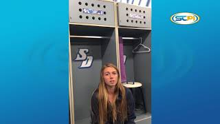Blast from USD womens soccer