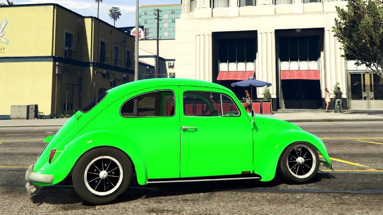 volkswagen beetle cal  beta gta  youtube