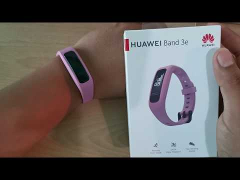 Huawei Band 3e Rosa AW70 Unboxing  Y Accesorios
