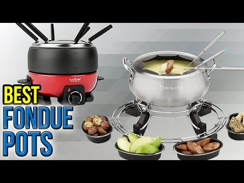9 Best Fondue Pots 2017