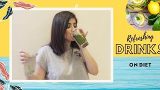 Refreshing drinks for DIET || Chia seeds nimbu paani || Pani puri ka paani || #DIYWednesday
