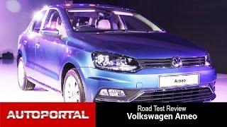 Volkswagen Ameo First Look - Autoportal