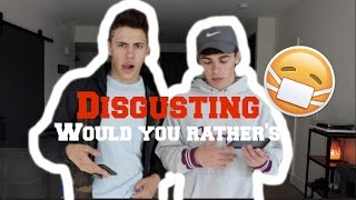 DISGUSTING WOULD YOU RATHERS!! Ft. Mikey Barone