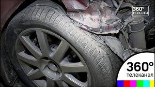 В Москве произошло крупное ДТП с двумя пострадавшими
