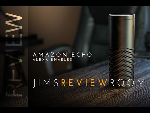 Amazon Echo with ALEXA - REVIEW
