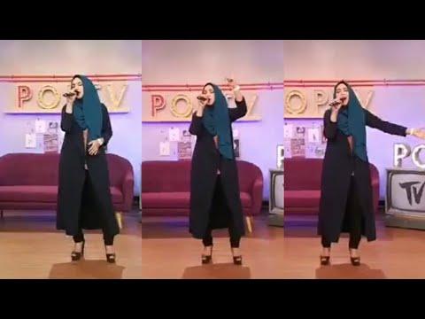 Shila Amzah nyanyi lagu HidayahMu live di POP TV