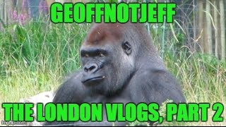 Down at London Zoo - London Weekend Part 2 - GeoffNotJeff Vlog